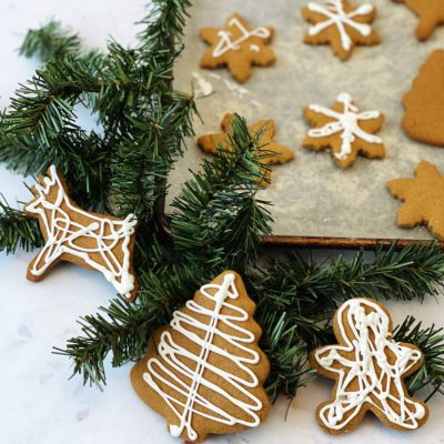 Gingerbread Cookie Recipe with Icing and Tips