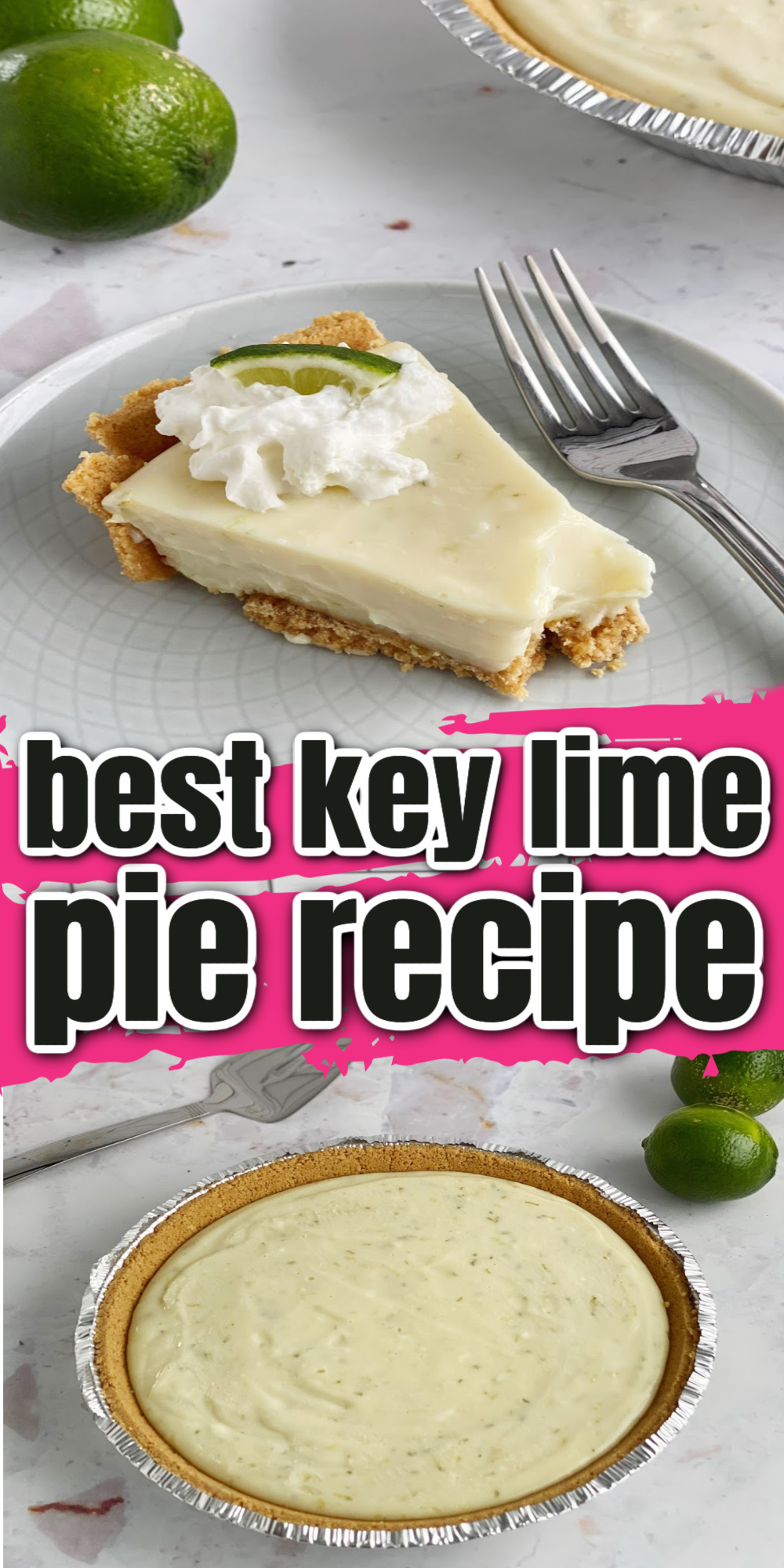 How to make key lime pie. Just 5 minutes prep for a creamy sweet tart easy key lime pie recipe.