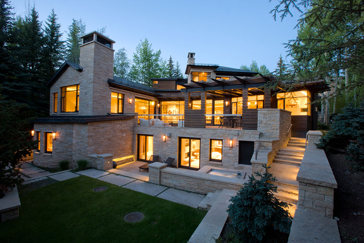 Aspen Modern Contemporary Home  RA Enterprises