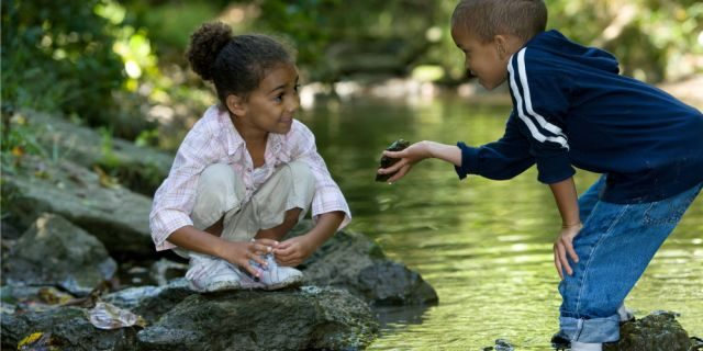 Image result for children in nature