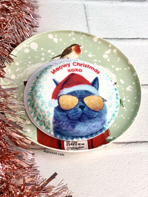 Bakerdays Santa Cake