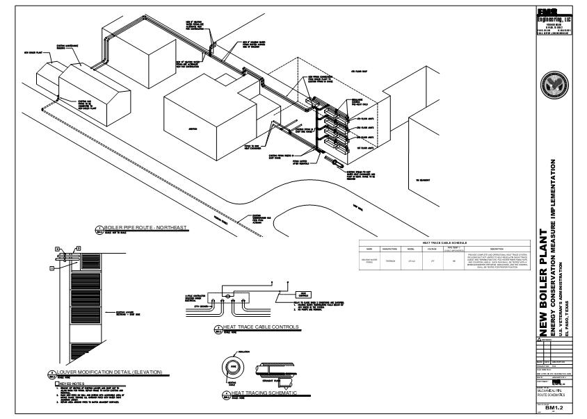 BM12 Pipe Route Schematics