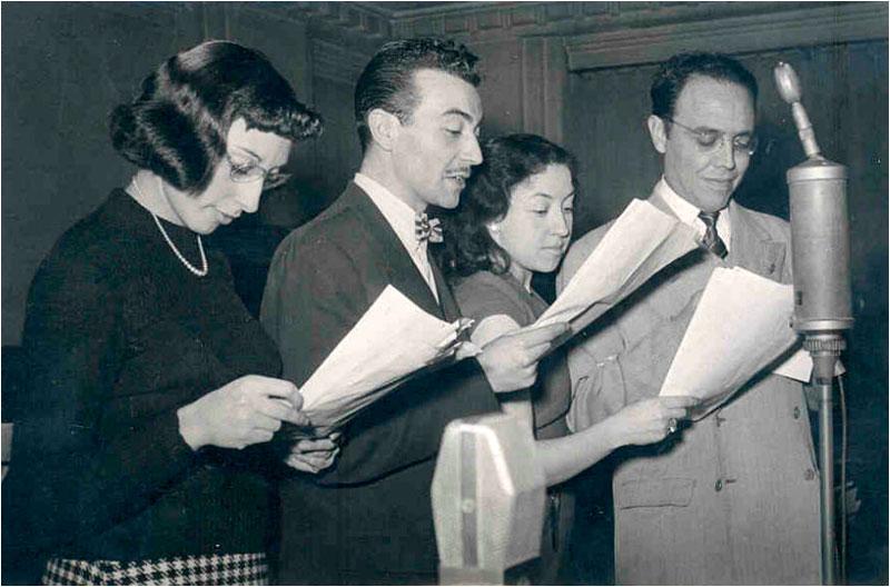 Resultado de imagen de la radio en los cincuenta y sesenta