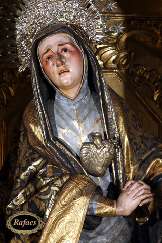Resultado de imagen de Virgen Dolorosa