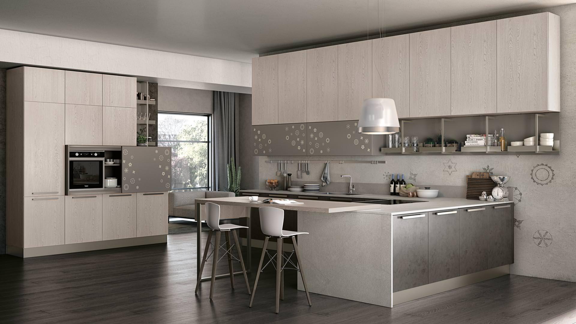 Novit Cucine moderne a Bari ecco la collezione LUBE