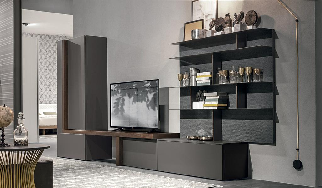 Mobili per un soggiorno moderno idee e soluzioni componibili firmate Gruppo Tomasella