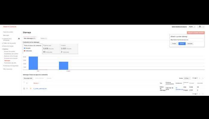 Tutorial de Search Console para dar de alta tu Web