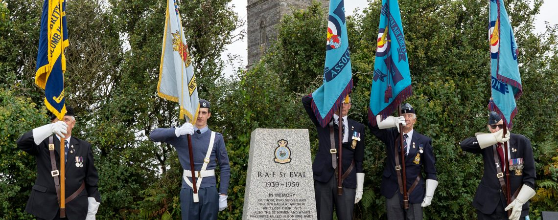 Battle of Britain Service at St Eval Church
