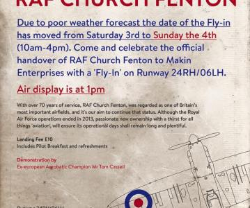 Future looking positive – Revival Fly-In to be held