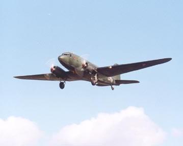 "RAF Dakota spends a few weeks ""up North"""