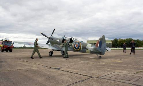 Spitfire flights from Church Fenton, w/c 6th Sep 21