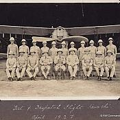 1927 Test and Dispatch Flight at Karachi Group Photo