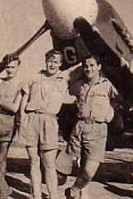 Flying Officer Frank Fahy - 615 Squadron , India