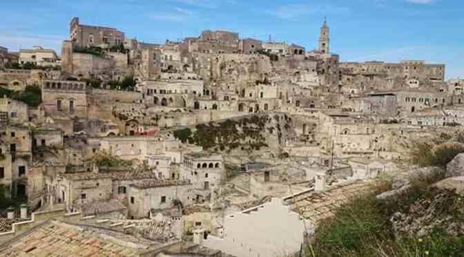 I sassi di matera, patrimonio Unesco