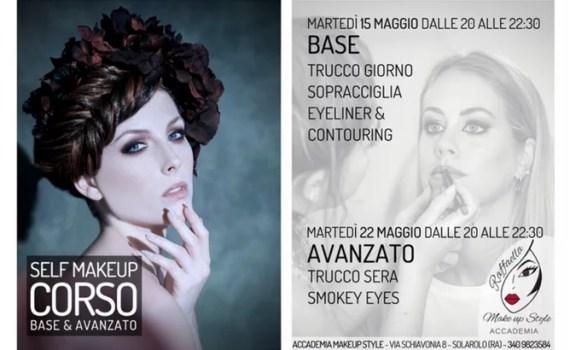 Corso Self Make Up Base & Avanzato Maggio 2018
