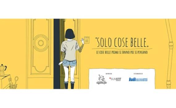 """Sul set di """"Solo Cose Belle"""""""
