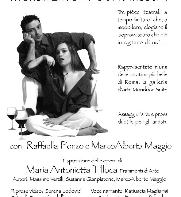 MONUMENTO AI SOPRAVVISSUTI, regia di Susanna Gianpistone