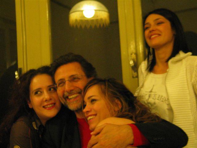 """La cena dopo la """"Prima"""" dello spettacolo HO VINTO UN REALITY, diretto da Rosario Galli"""