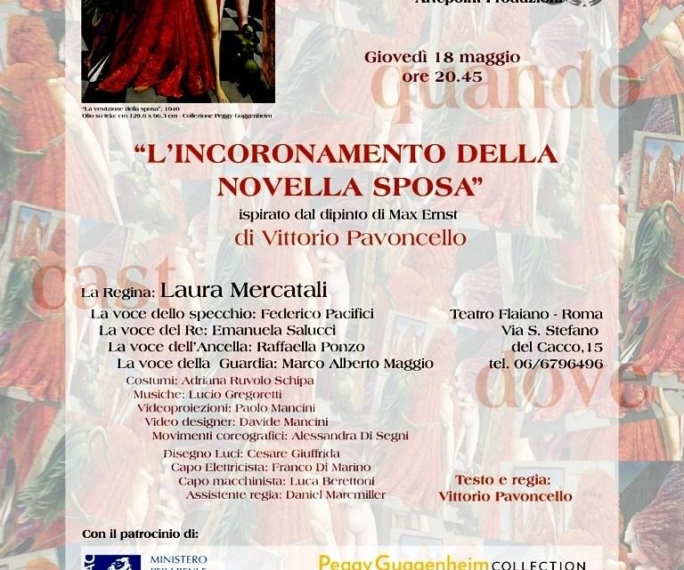 L'INCORONAMENTO DELLA NOVELLA SPOSA, regia di Vittorio Pavoncello