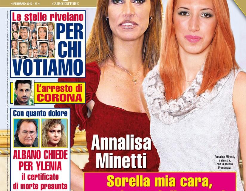 DIPIU' n. 4/2013 – Il dolore di Annalisa Minetti