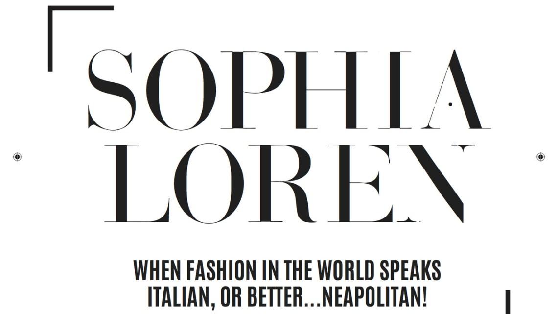 VISION n. 02/2018 – SOPHIA LOREN