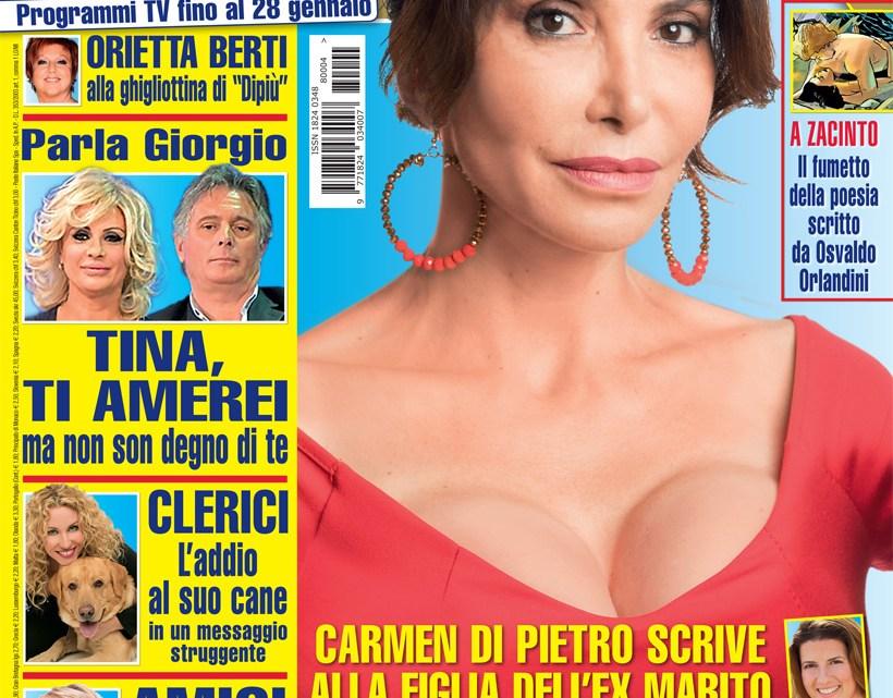 DIPIU' n. 04/2018 – Carmen Di Pietro scrive alla figlia dell'ex marito Sandro Paternostro