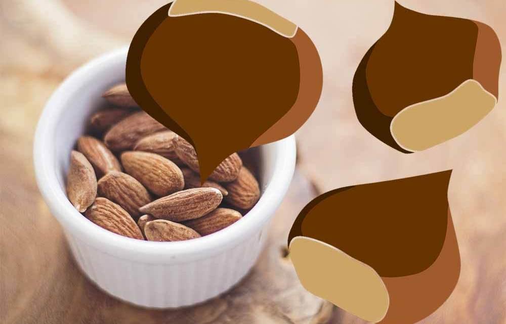 Pelle idratata: farina di castagne e olio di mandorle
