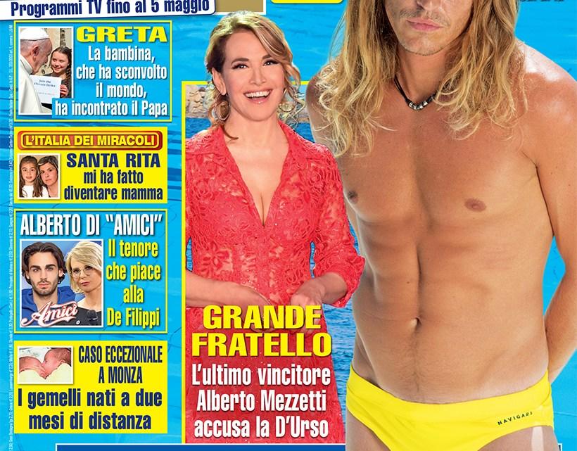 DIPIU' n. 17/2019 – Reality: Alberto Mezzetti accusa Barbara D'Urso