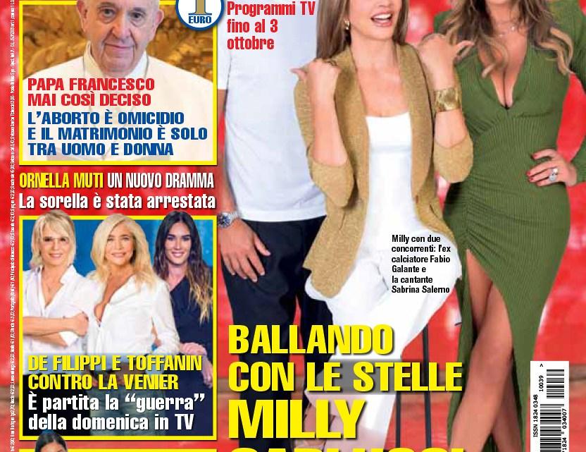 """DIPIU' n. 39/2021 – Montefiori-Briga: """"Che Dio ci aiuti"""" e """"Amici"""" si sposano il 18 dicembre"""
