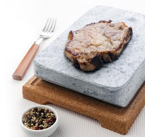 Pierre naturelle de cuisson - Steksten - Pour cuire et griller