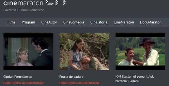 Cinemaraton, Cinemaraton TV, filme românești, Telekom România