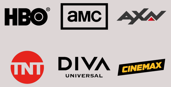 HBO, Diva, Cinemax, AXN, TNT și AMC, HBO, AMC, AXN, TNT, Diva, Cinemax, HBO logo, AMC logo, AXN logo, TNT logo, Diva logo, Cinemax logo