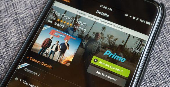 Amazon Prime Video în luna decembrie 2018, Amazon Prime Video, Amazon Prime Video în luna octombrie 2018