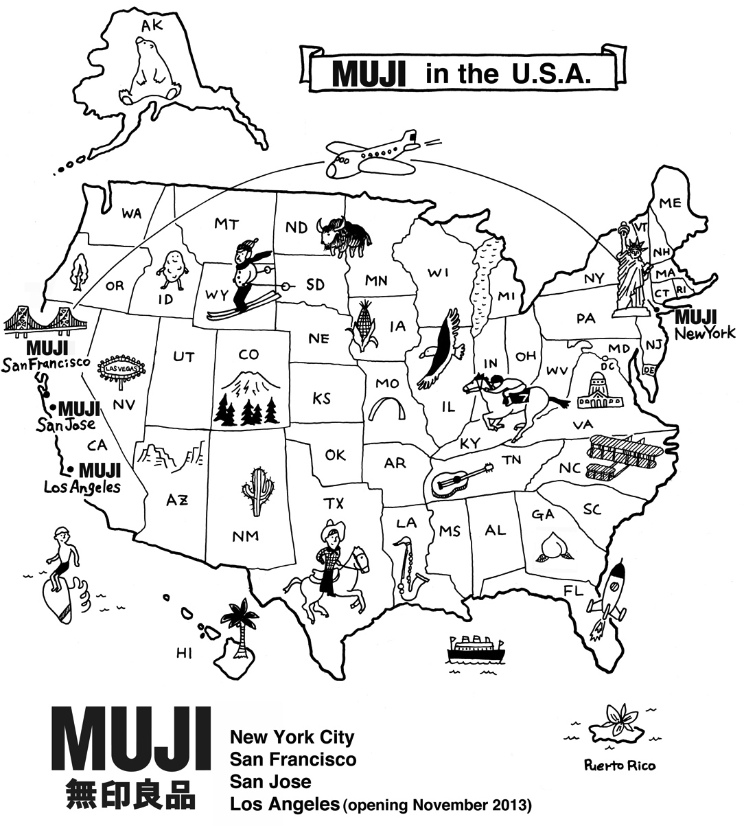 Muji Pop-Up Shop Opens on Saturday