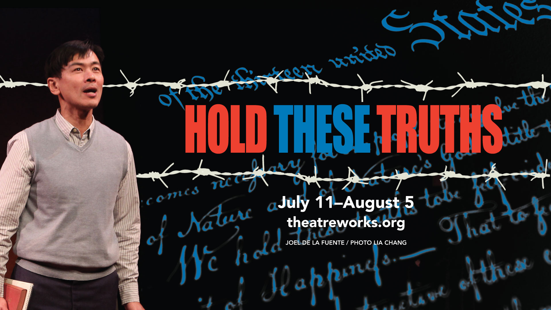 Image result for hold these truths, theatreworks