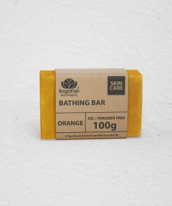 Buy Handmade Orange Soap 100gm | Just Rs 90/- | RagaFab