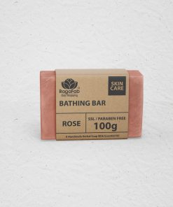 Buy Handmade Rose Soap 100g | Tack Care with Indian...