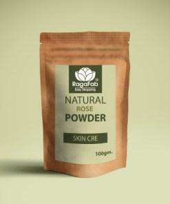 Buy RagaFab 100% Organic Rose Petals Powder Online at ...