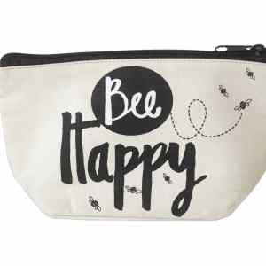 Bee Happy Cosmetic Bag