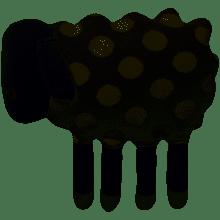 Sophie Allport Cushion – Shaped Like A Sheep
