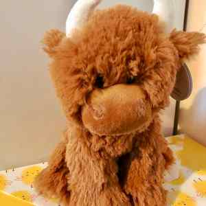 Highland Cow Soft Toy
