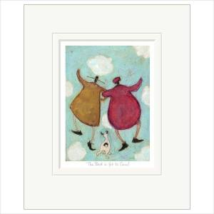 Sam Toft – 'The Best Is Yet To Come' Mounted Limited Edition Print