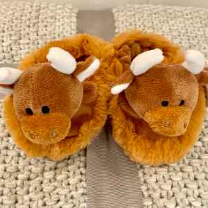 Highland Cow Slippers