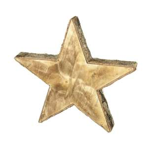 Eltree Large Wooden Star