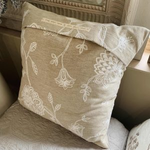 Natural Floral Cushion