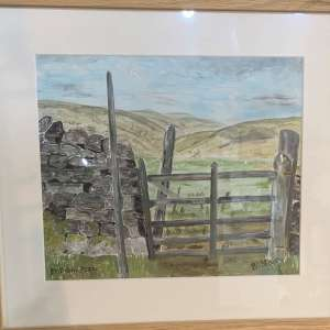 'Malham Moor', Yorkshire Dales – Original By B Slater