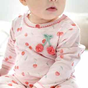 Crochet Cherry Babygrow 3 6