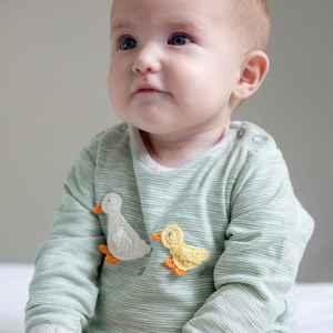 Crochet Ducks Babygrow 3 6