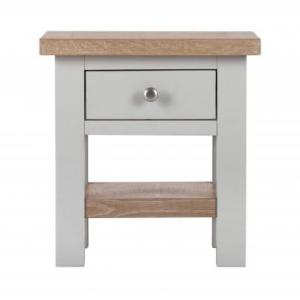 Oak Top  Small Bedside Table