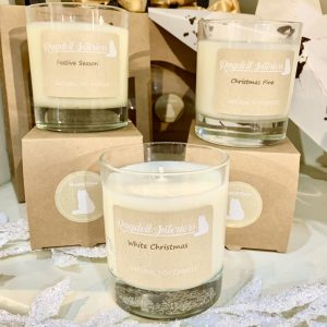 Natural Soy Candle With Essential Oils – Festive Season